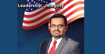 T.K. Mathew (Republican Party) is running for election for Hillsborough County Tax Collector in Florida.